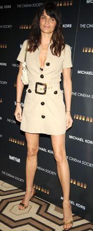 Kim: Helene ChristensenNe Giyiyor: Michael KorsNerede: New York Tribeca Grand Otel'de The Cinema Society ve Michael Kors'un ev sahipliğini yaptığı 'Iron Man' filminin gösteriminde